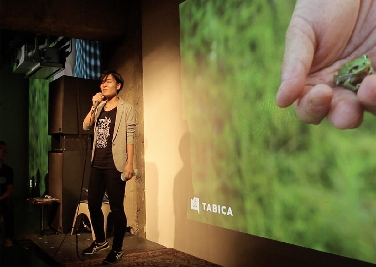 Pechakucha night Tabica presentation
