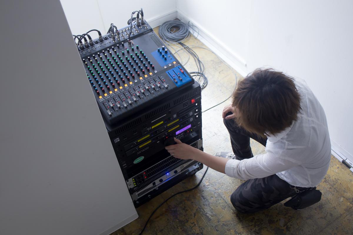 attic music equipment
