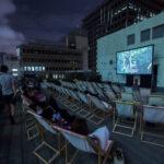 GRIDの屋上で映画を観る、CINEMA NITEをはじめました!