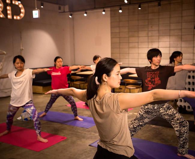 GRID Night Yoga -グリッドナイトヨガ-