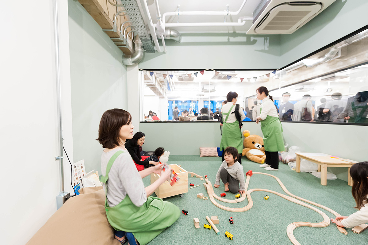Nagatacho GRID kids room