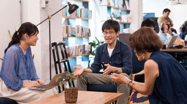 小暮さんと中枝さんのインタビュー