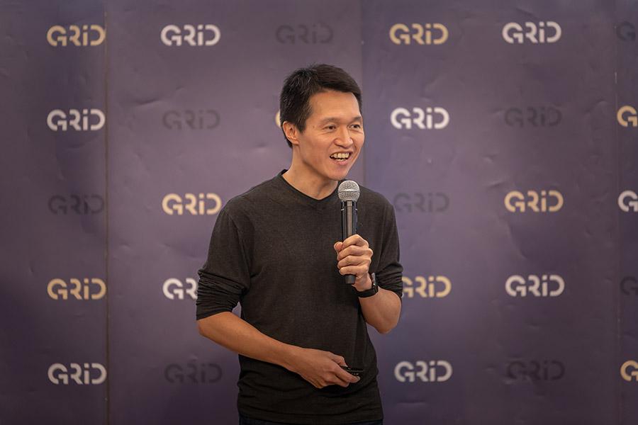 2020年1月のガイアックス社員総会GaiaKitchenでのガイアックス代表上田