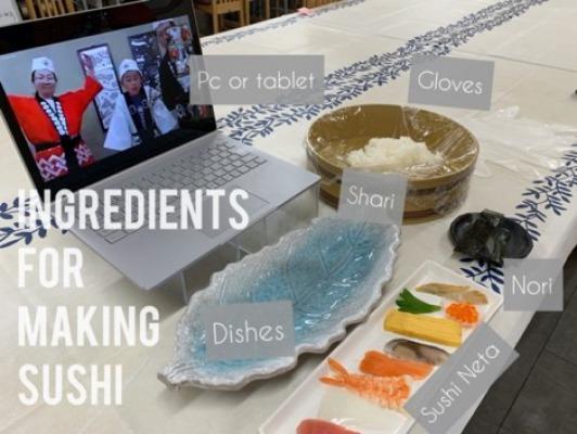 お寿司作り体験