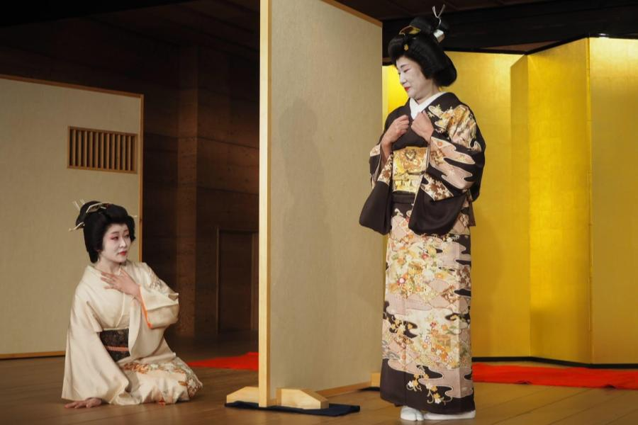 Meet Geisha 箱根芸者ショー 舞妓2人