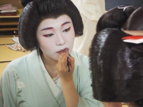 「Meet Geisha Online Drinking:芸者