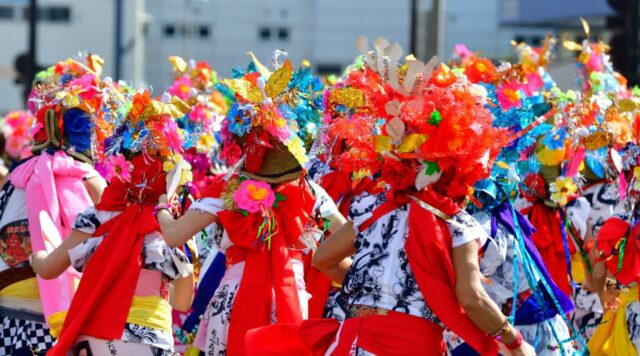 青森ねぶた祭り 踊り手