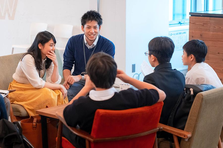 中学生訪問