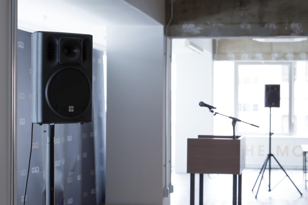 attic speaker