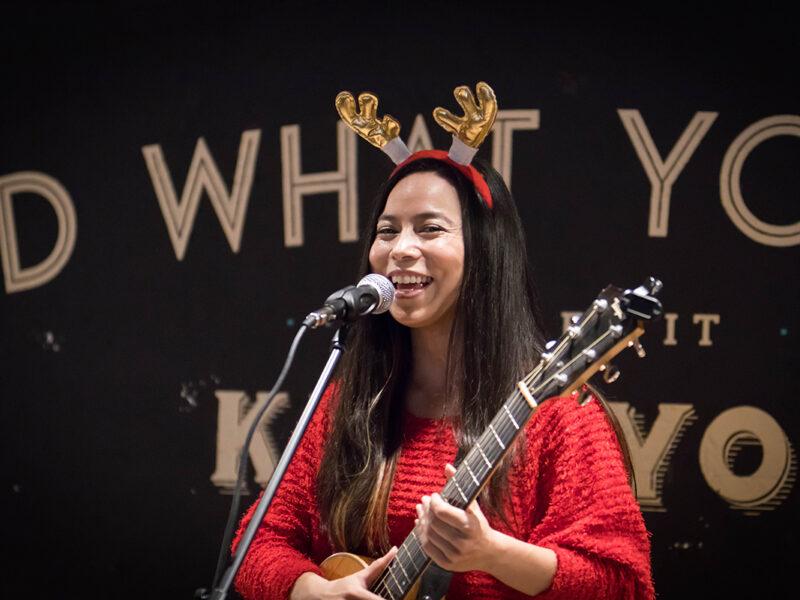 sayulee Christmas performance
